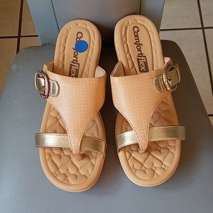 Brand new comfort flex sandals made in Brazil